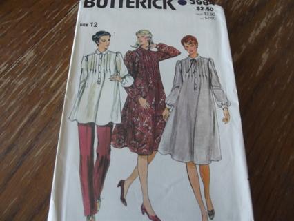 BUTTERICK MATERNITY DRESS & SHIRT PATTERN 3984