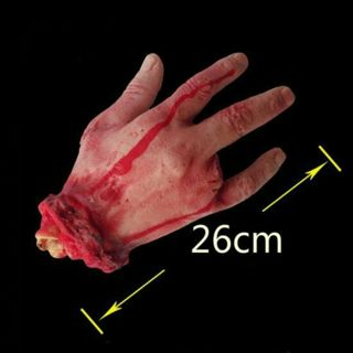 Halloween Horror Lifesize Bloody Hand Haunted House Party Scary Decoration