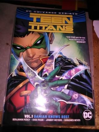 Teen Titans Vol. 1 Damian Knows Best