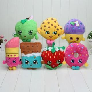 Shopkins Plush Toy Mini Muffin Lipsticks Hobbies Chocolate Hot Stuffed Doughnut
