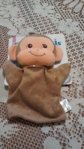 NIP-Garanimals Monkey Bath Mitt