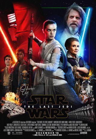 """Star Wars: The Last Jedi"" HDX - Vudu/movieanywhere Digital Movie Code"