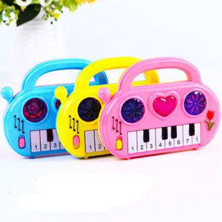 1Pc Cartoon Keyboard Piano Toy Electronic Organ Musical Developmental Toy