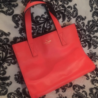 Awesome KATE SPADE Orange Purse Handbag