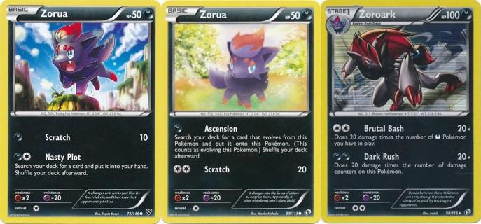 free free pokemon cards zoroark foil rare 2 zorua cards cute