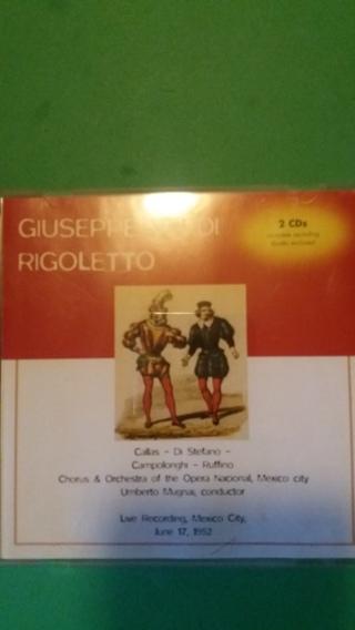 cd  giuseppe  verdi  rigoletto  free shipping