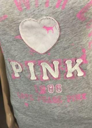 1 Victorias Secret x PINK Shirt FREE SHIPPING