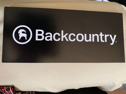 BACKCOUNTRY ~ Premium Outdoor Gear & Clothing ~ Sticker