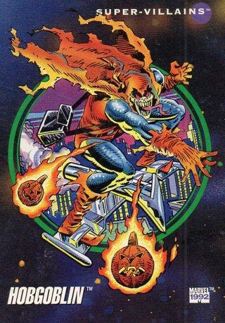1992 Marvel Comic Trade Card: Hobgoblin