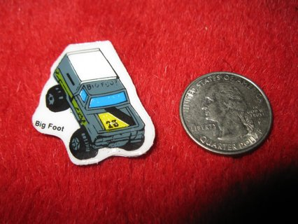 1980's Matchbox Off Road 4x4's Refrigerator Magnet: Big Foot