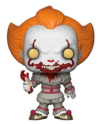 NEW Funko Pop IT Pennywise Collectible Vinyl Figure Bloody Hand FREE SHIPPING