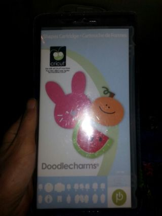 Cricut Cartridge Doodlecharms brand new