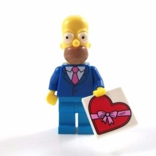 New Homer Minifigure Building Toy Custom Lego
