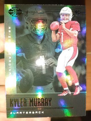 You are bidding on a 2019 Illusions Green Kyler Murray rookie.