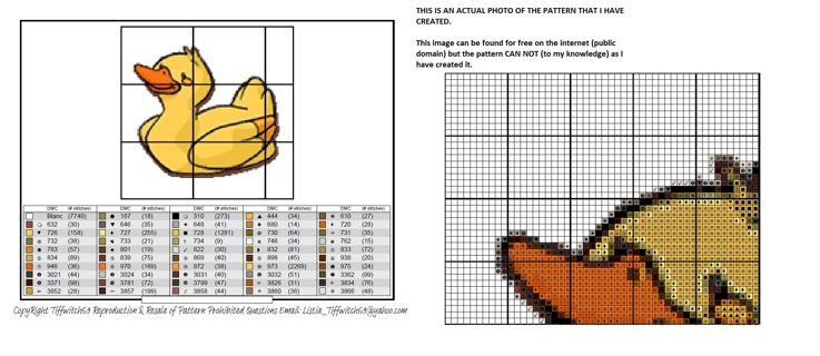 Duck Cross Stitch Patterns ***WINNERS CHOICE***