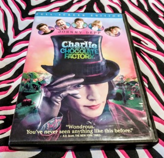 Charlie And The Chocolate Factory - dvd - Johnny depp