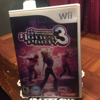 Hottest party 3 Wii game