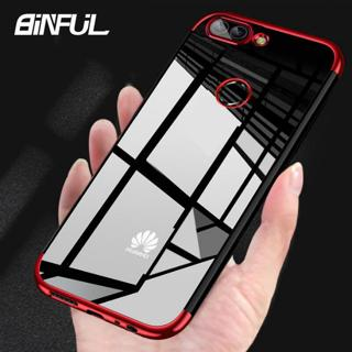 Huawei P Smart 2019 Case Cover Transparent  Plating TPU Soft Silicone Back Cover Huawei P Smart 20