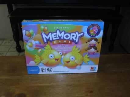 Original Memory by Milton Bradley new