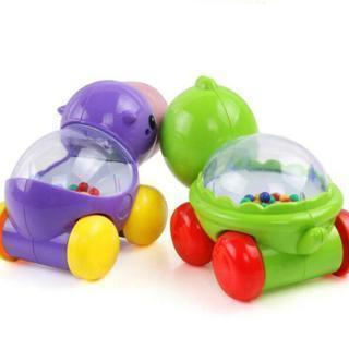 Cute Gliding Small Hippo Turtle Learning Educational Toy Baby Creeping Toy LIN