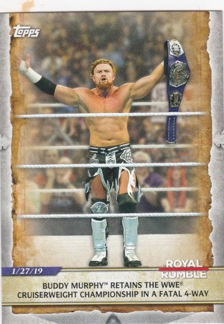 2020 WWE Topps Buddy Murphy/Mystery Card