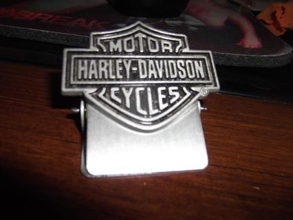 Free Harley Davidson Money Clip