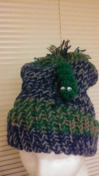 hat = hand made
