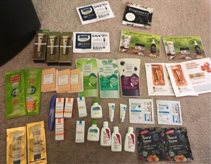 Lot of cos samples free shipping