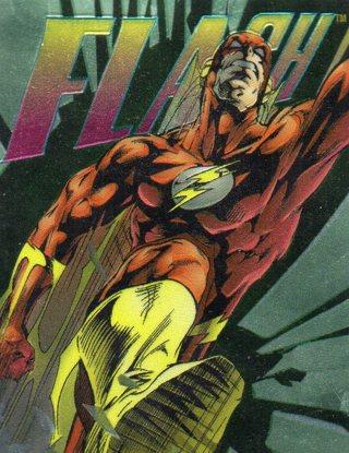 1995 DC Comic Trade Card: Flash