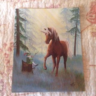 Beautiful Unicorn Picture/Poster