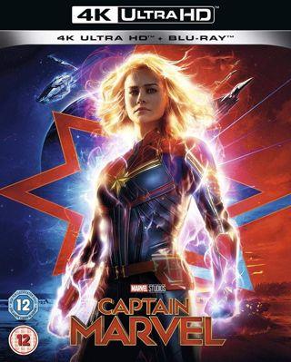 Captain Marvel 4K Digital Copy DMR points