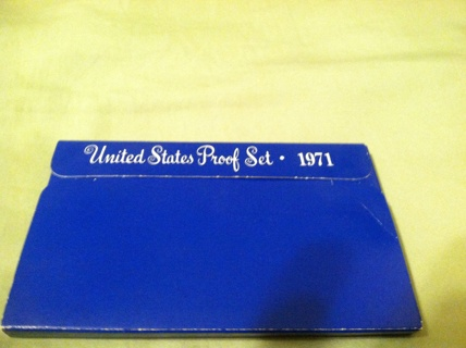 1971 COIN Proof Set
