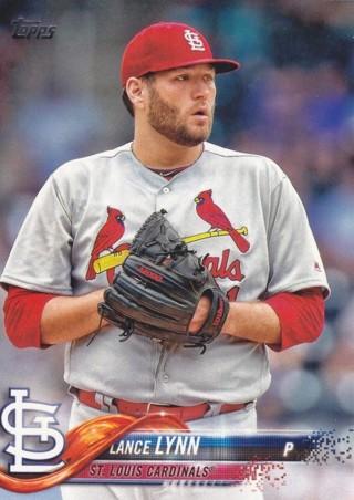 Lance Lynn 2018 Topps St. Louis Cardinals