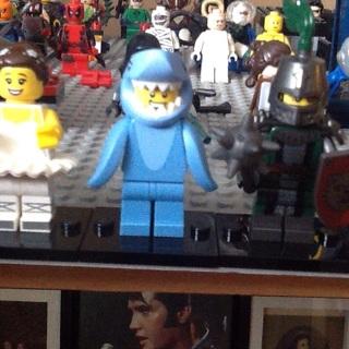 Shark suit Guy Lego minifigure