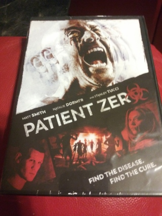 Patient zero DVD Factory sealed