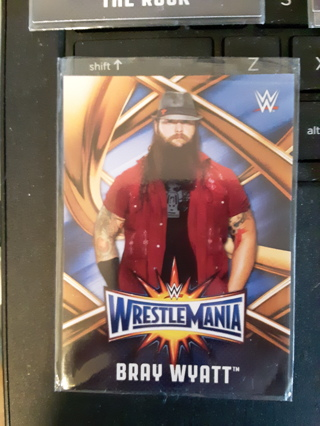 2017 WWE ROAD TO WRESTLEMANIA BRAY WYATT #WMR-6