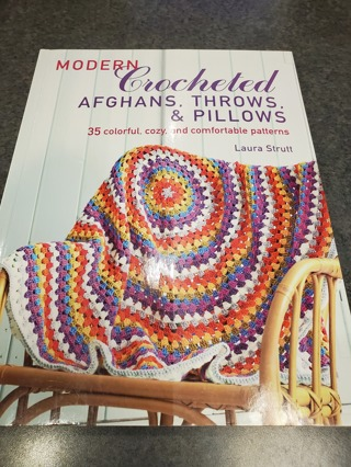 Modern Crocheted Afgans, Throws, and Pillows