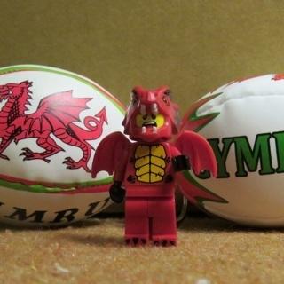 New Dragon Suit Guy Minifigure Building Toy Custom Lego