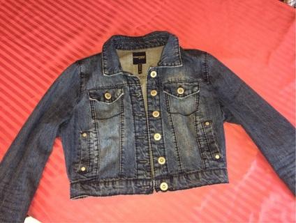 Beautiful Medium Blue Jean Jacket