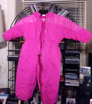 EUC Girls 3T Hot Pink Osh Kosh Snow Suit