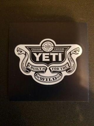 YETI Sticker