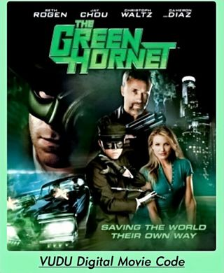 "HD Digital Movie Code ""The Green Hornet"" 2011 (digital delivery)"