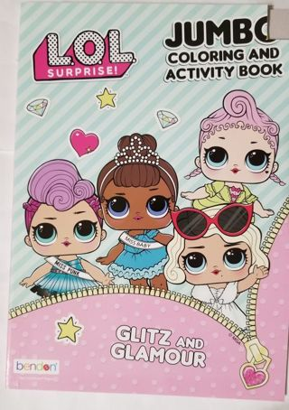 L.O.L. SURPRISE Coloring and Activity Book