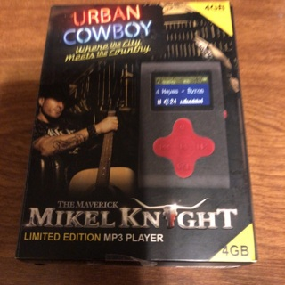 The Maverick Mikel Knight MP3 Player