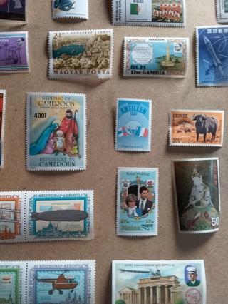 320# Worldwide Stamp Lot MWH