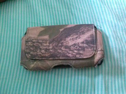 Hollster camo phone case