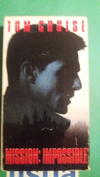 vhs mission impossible free shipping