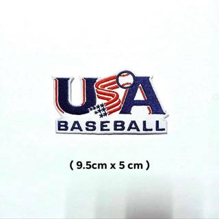 USA Sport Logo Embroidery Iron