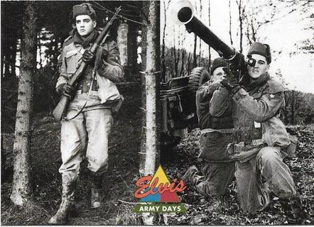 """1992 The River Group Elvis Presley """"The Elvis Collection: Army Days"""" Card #52"""
