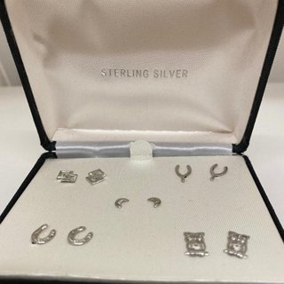 Sterling Silver 925 Earrings in Gift Box NWT